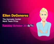 "PBS-Mark Twain Prize-""Ellen"""